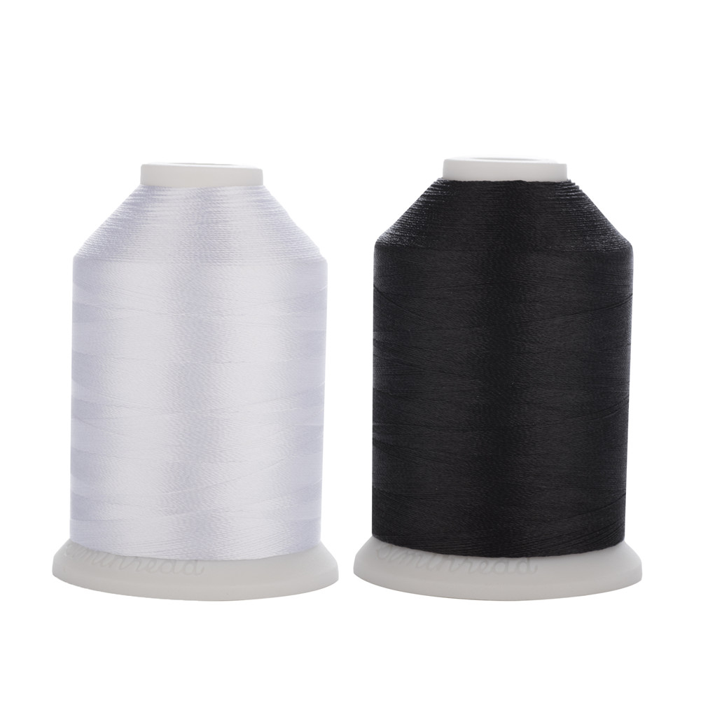 50 Spools Sewing Thread Polyester White Color 200 yards each Wholesale Lot
