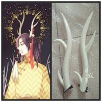 Anime Axis Powers APH Cosplay Horn Deer Horns Head Clip Headwear Hairwear Cosplay Props Accessories Hair Clip Halloween