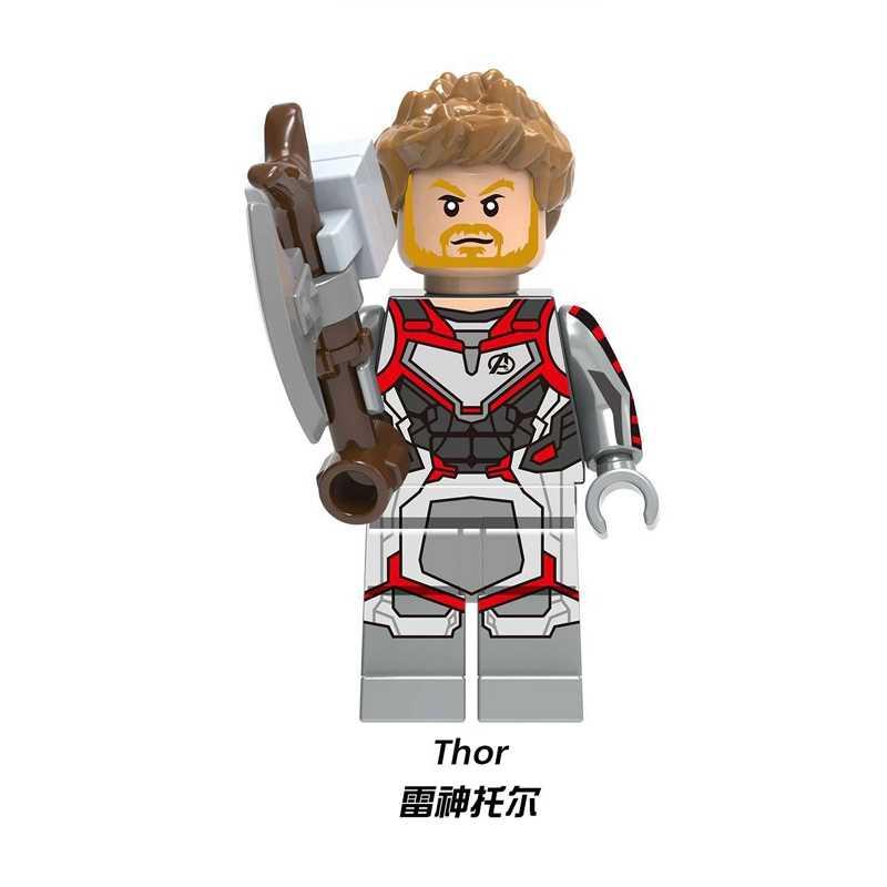 キャプテンスーパーヒーロービルディングブロックブロックフィギュア Thanos さんアイアンマントールスパイアベンジャーズ 4 Endgame モデルレンガのおもちゃ