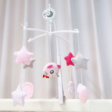 Bell Carousel Baby Crib Mobiles Toys Rattles-Bed Cots Educational-Toys Music Infant Newborns