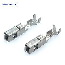 50 Pcs brass crimp wire terminal G342 FCI 2.8series Big Pins For Automotive Connector 211PC249S8005