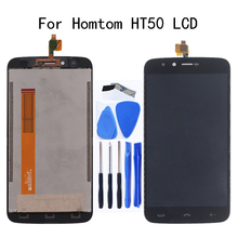5.5 original display for Homtom HT50 LCD Display + touch screen digital converter assembly repair parts For