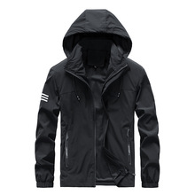 Men Waterproof Military Jacket Clothes Casual Mens Windbreaker Jackets Breathable Hooded Outdoor Coats