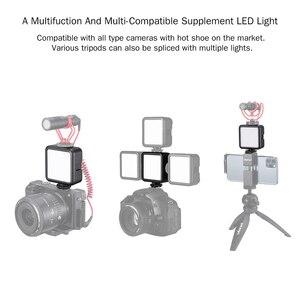 Image 5 - Ulanzi miniluz LED para vídeo VL49, 6W, batería integrada de 2000mAh, iluminación fotográfica de 5500K para cámara DSLR Canon, Nikon, Sony