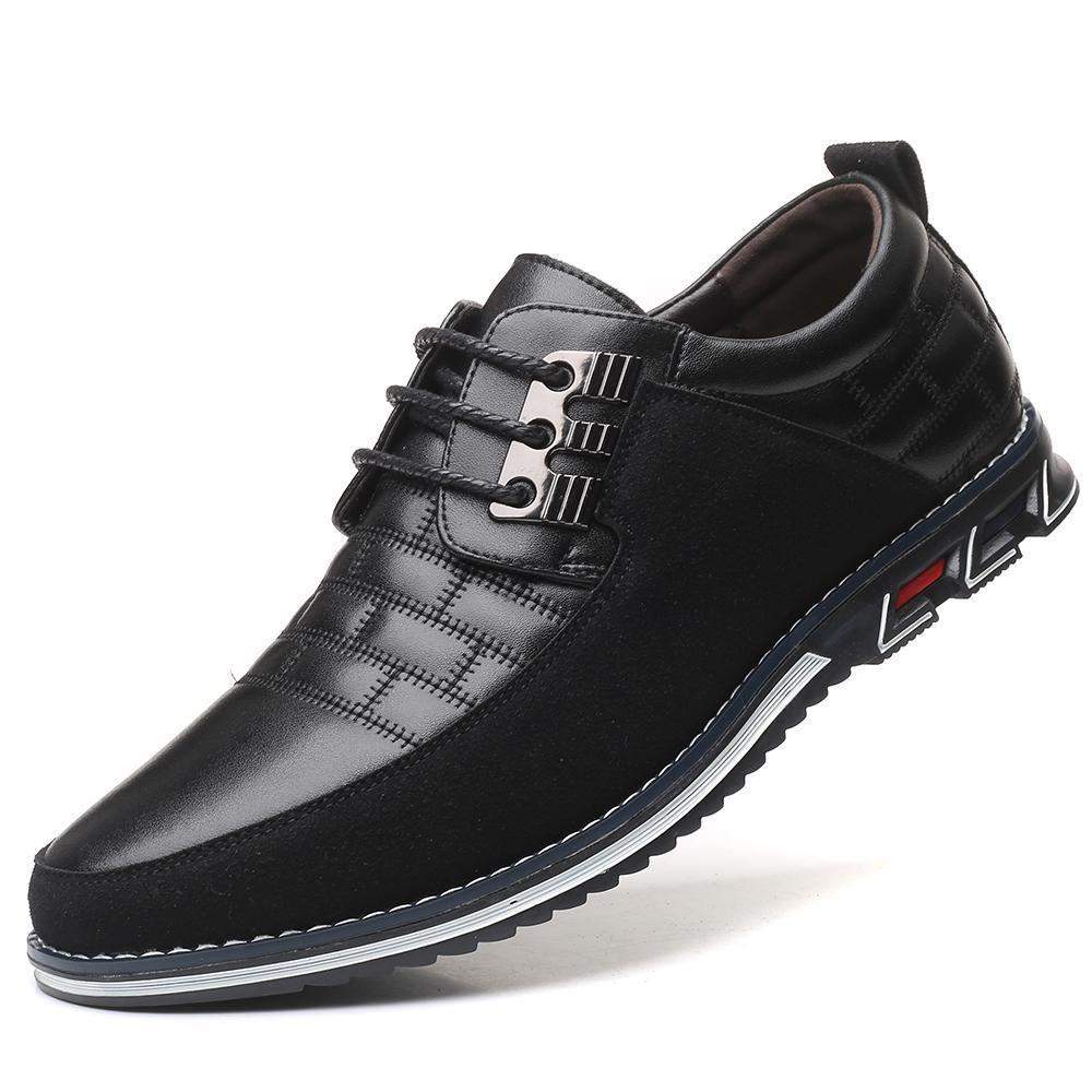 2019 New Big Size 38 48 Oxfords Leather Men Shoes Fashion Casual Slip On Formal Business Innrech Market.com