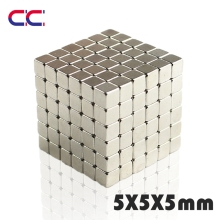 50/100/216Pcs 5x5x5 mm 5*5*5 mm neodymium magnet N35 super powerful neodymium magnets free shipping rare earth magnet