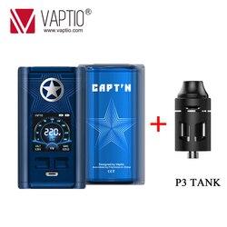 Gift! originele Vaptio Capt'n 220W Vape Doos Mod Vaporizer Voor 510 Thread Vape 18650 Elektronische Sigaret Mods Ondersteuning Rta Rda rdta