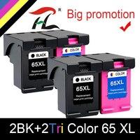 Cartucho de tinta HTL 65XL Compatible con hp 65 XL  Cartucho hp65xl hp65 para impresora hp Envy 5010 5020 5030 5032 5034 5052 5055