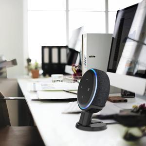 Image 4 - Supporto da tavolo Per Amazon Echo Dot 3rd Generazione Alexa di Smart Voice Assistenti Altoparlante Supporto Staffa Risparmio di Spazio