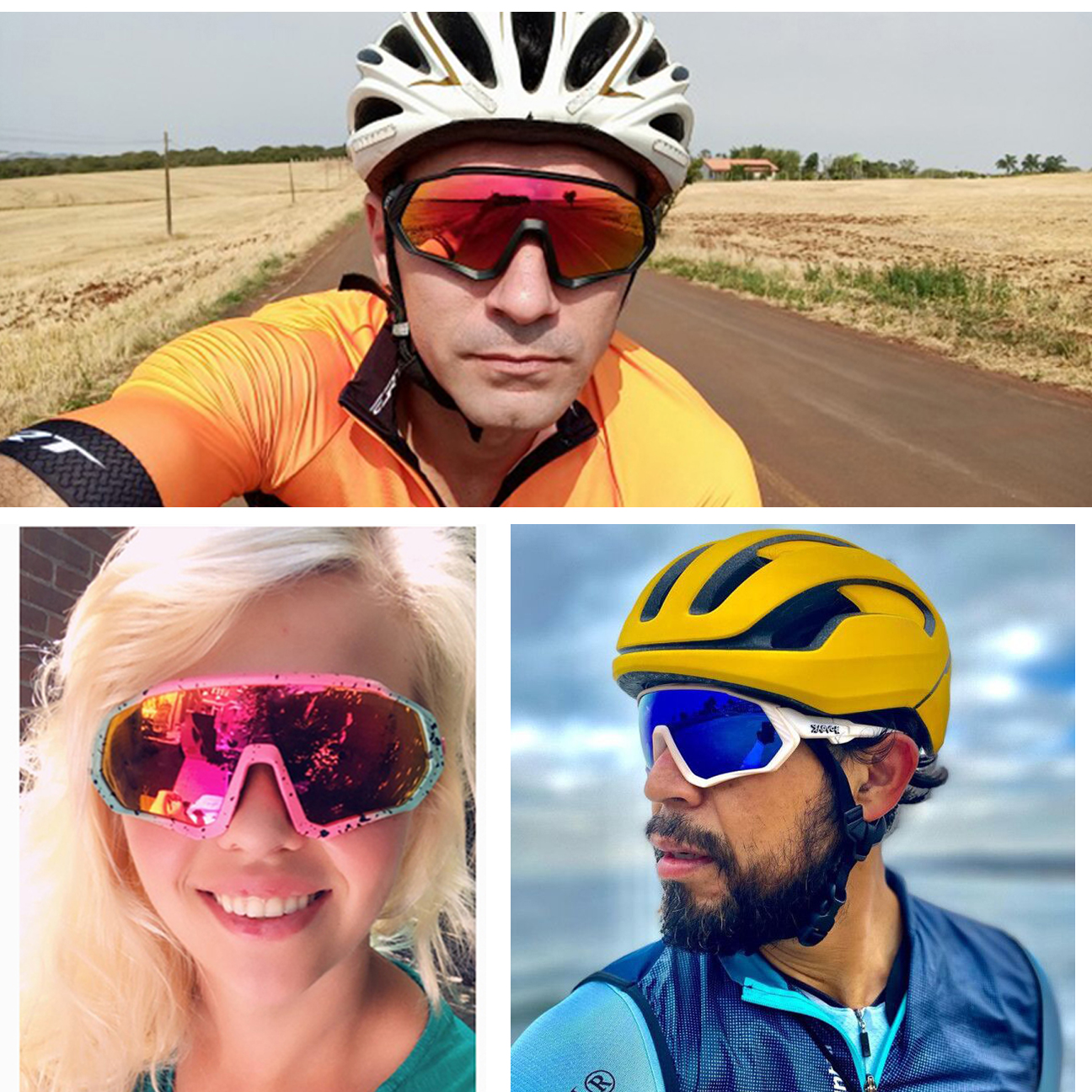 Riding Cycling Sunglasses Mtb Polarized Sports Cycling Glasses Goggles Bicycle Mountain Bike Glasses Men s Women