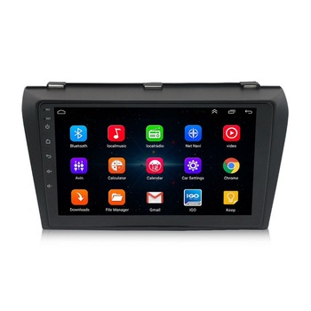 Car Radio Multimedia Player For Mazda 3 2006-2012 Navigation GPS 2 din 1+16G Android 9.1 Built in GPS Module WiFi Control image
