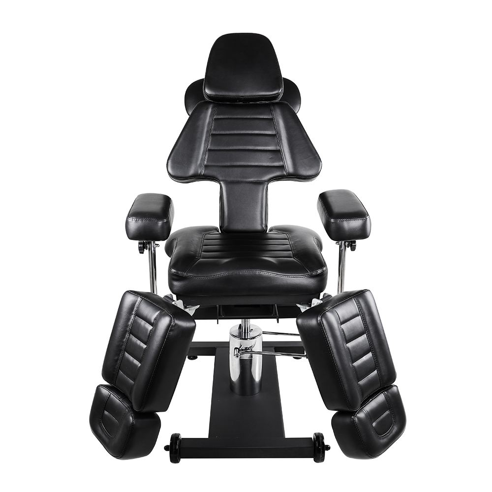Tattoo Client Chair With Tattoo Arm Leg Rest Hydraulic Stool Studio Salon Furniture Equipment Moveable Massage Bed Bearing 200kg