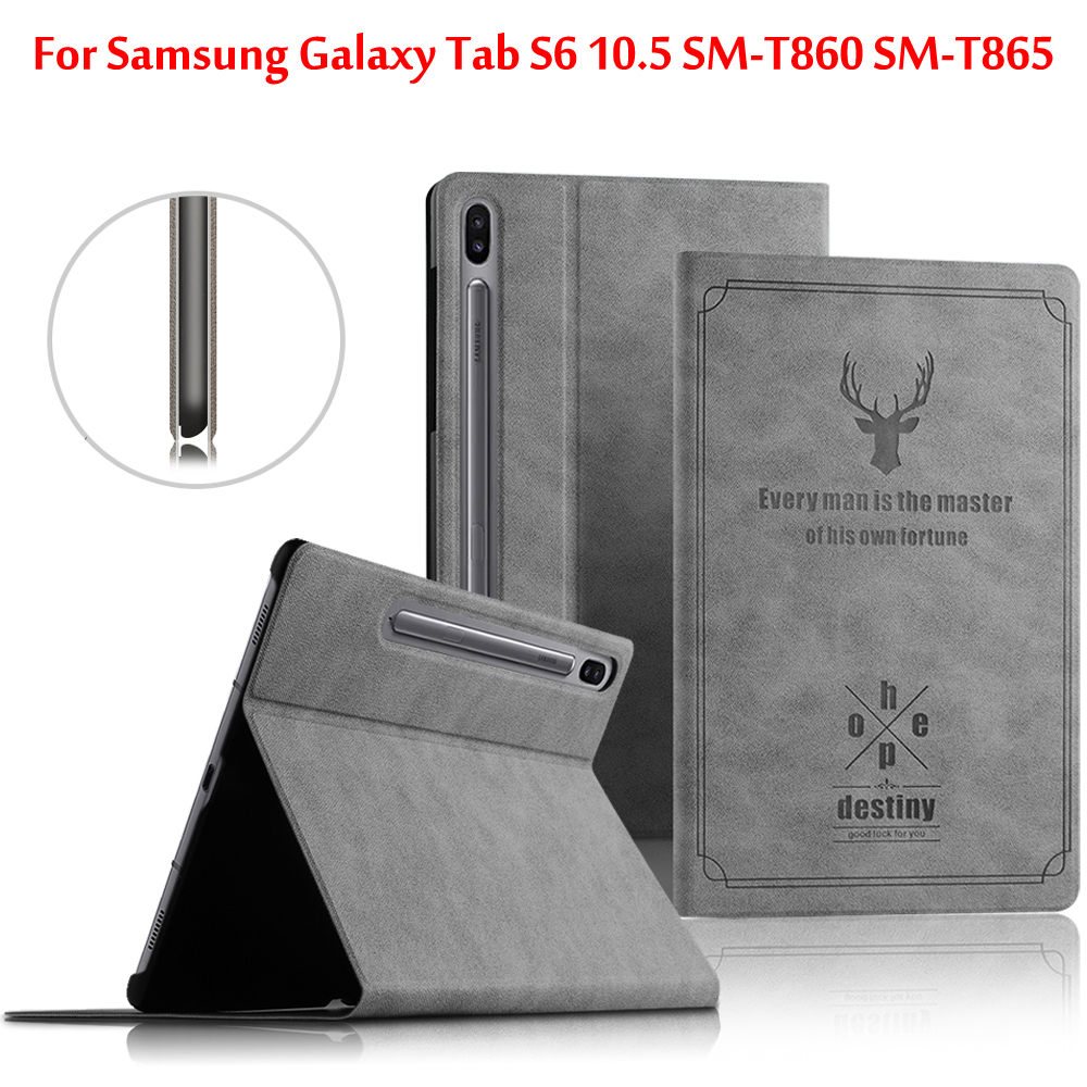 Case For Samsung Galaxy Tab S6 10.5 Case T860 T865 Protective Cover For Galaxy Tab S6 10.5'' SM-T860 SM-T865 Tablet Shell