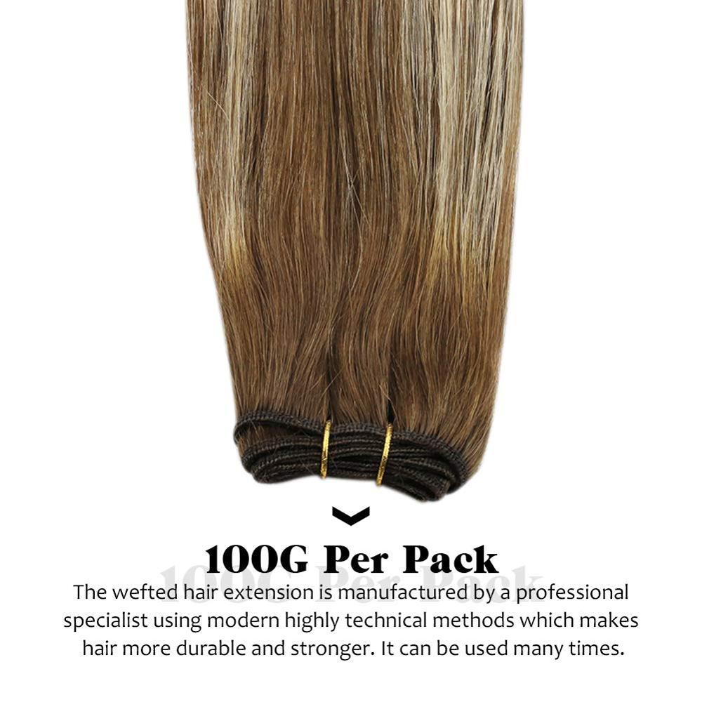 Купить [18 цветов] вшитые в тканное полотно волосы пряди человеческих
