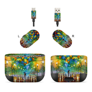 Image 3 - 3M Material Skin Protective Headphone Sticker Personality Decal Skin For sony wf 1000XM3