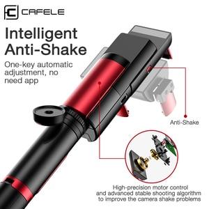 Image 3 - Cafeleบลูทูธไร้สายSelfie Stickมือถือ3แกนGimbalผู้ถือกล้องStabilizerสำหรับโทรศัพท์รีโมทคอนโทรล