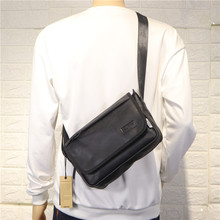 Korean Casual Men Shoulder Bag Sport School Strap Shoulder Bag School Vintage Designer Bolsos Para Hombre Crossbody Bag DE50NDJ