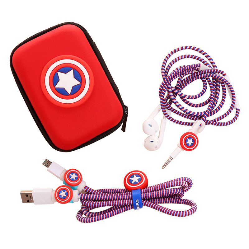 marvel-font-b-avengers-b-font-captain-america-shield-spider-man-iron-man-batman-superman-charger-protection-cord-rope-headphone-winder