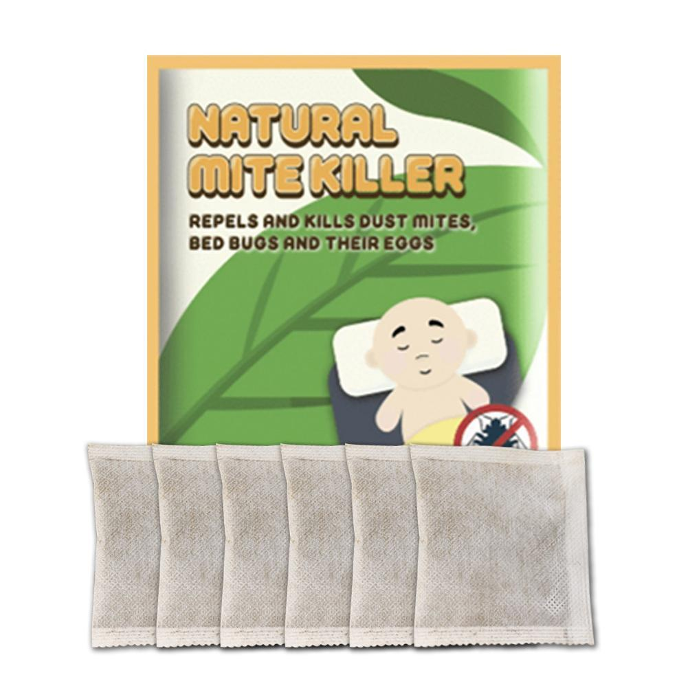 Natural Plant De-mite Pack Spray Chinese Herbal Medicine Non-toxic Anti-de-mite Antibacterial Pad Household Cleaner Artifact
