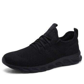 Hot Sale Light Running Shoes Comfortable Casual Men's Sneaker Breathable Non-slip Wear-resistant Outdoor Walking Men Sport Shoes