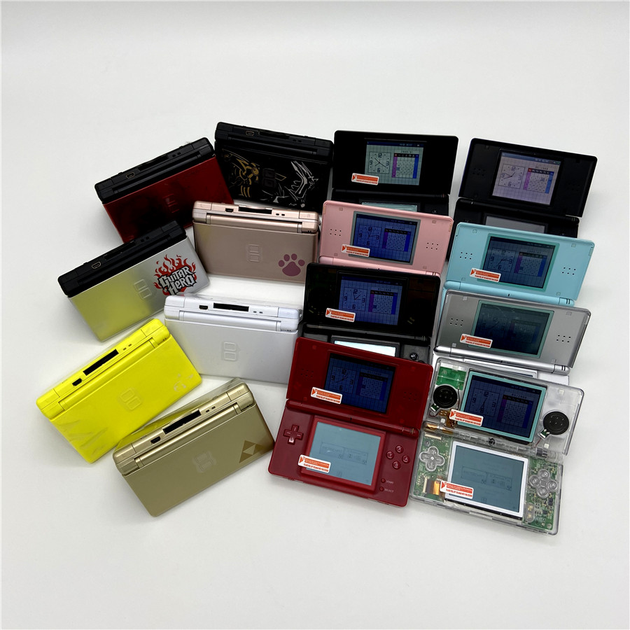 Professionally Refurbished For Nintendo DS Lite Game Console For Nintendo DSL Palm Game With R4 And 32GB Memory Card