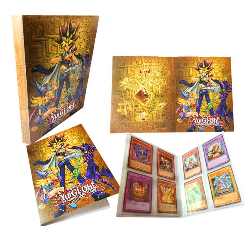 60PCS/Set English Yugioh Cards With Box Fine Metal Box Collection Card Yu Gi Oh Game Paper Cards Toys For Children Adult Gift