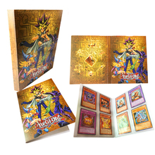 60PCS/Set English Yugioh cards With Box Fine Metal Collection Card Yu Gi Oh Game Paper Cards Toys For Children Adult Gift