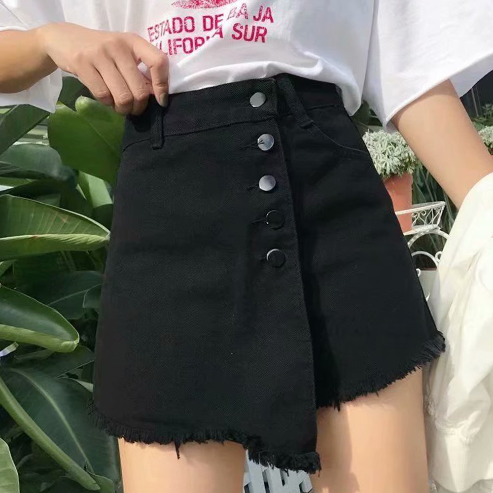 2020 NEW Arrival Casual Summer Hot Sale Denim Women Shorts High Waists Fur-lined Leg-openings Plus Size Sexy Short Jeans S-2XL