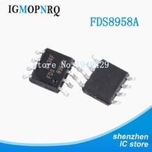 10 PIÈCES FDS8958A SOP8 FDS8958 8958A MOSFET SO8 COMP N-P-CH T/R nouveau