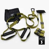 Bandes de résistance Fitness suspendus ceinture formateur Gym entraînement bandes de Suspension exercice tirer corde étirement sangles élastiques