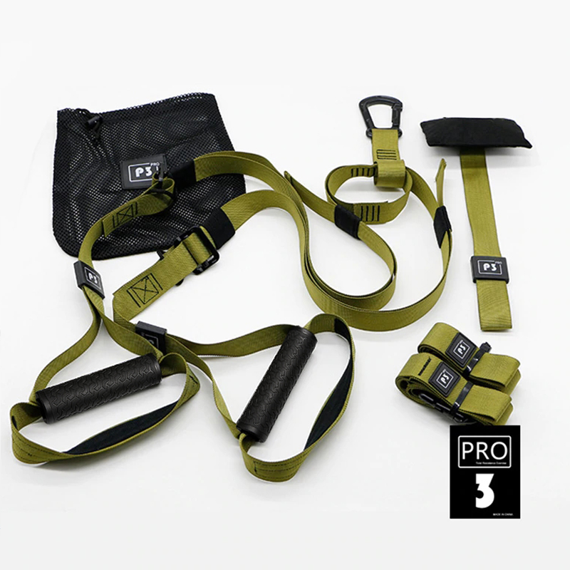 Resistance Bands Fitness Hanging Belt Trainer Gym Workout Suspension Bands  Exercise Pull Rope Stretching Elastic Straps