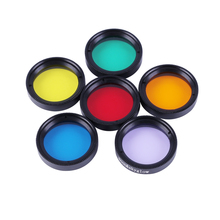 CIWA Eyepiece Filter Astronomical Telescopes Ocular Lens Planets and Nebula Filter Moon skyglow 6 color selection 1.25 inch new 1 25 inch fitting colour filter wheel for telescopes full metal