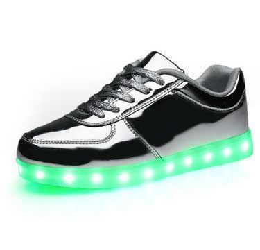 Весенне Осенняя обувь с зарядкой через Usb светильник светодиодное освещение для