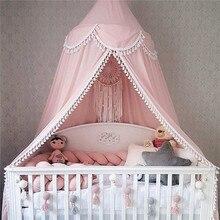 Cortina ropa de cama tienda de campaña decoración de la habitación cama de bebé cubierta de la cama mosquitera