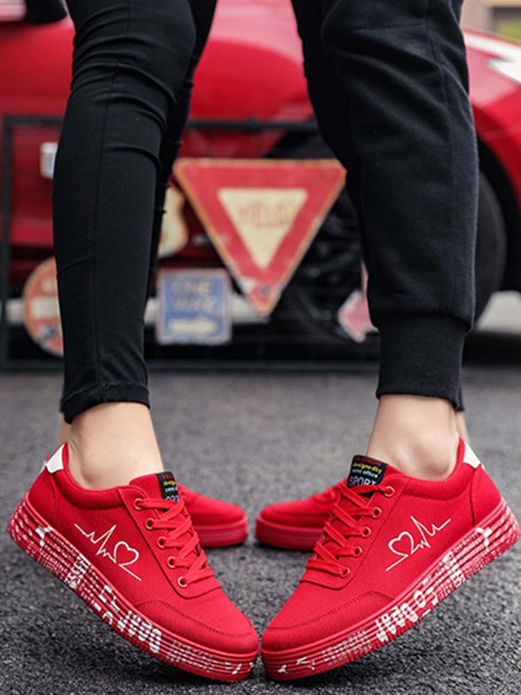red bottoms sneakers mens