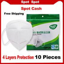 Hot Sale 100 PCS Disposable Cosplay Maske 4 Layer Non-woven Independent Packaging Industrial Ear Loop Cosplay Mask For Face Kids