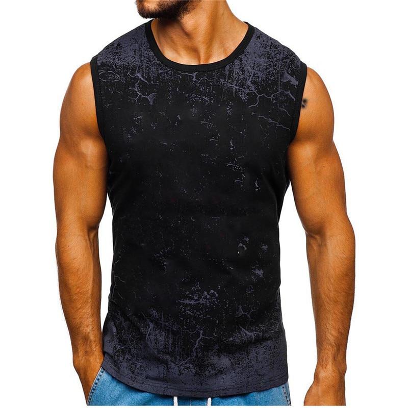 ñBest DealMen's Clothing Tee-Shirt Tank-Top Sport-Tank Muscle Men Sleeveless Summer Gym Fitness∩