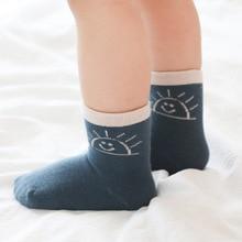 New baby Socks Toddlers boy Girls Cute Childrens Cotton Anti-skid