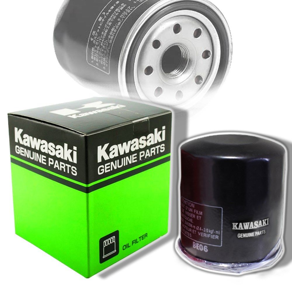 Motorcycle Oil Filter For Kawasaki ZX600 ZX636 ZX6-R ZZR600 1990-2014