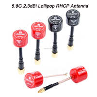 Readytosky Lollipop 5.8G 2.3dBi RHCP Super Mini FPV Antenna SMA / RP SMA / UFL / Straight MMCX Antenna For FPV RC Drone