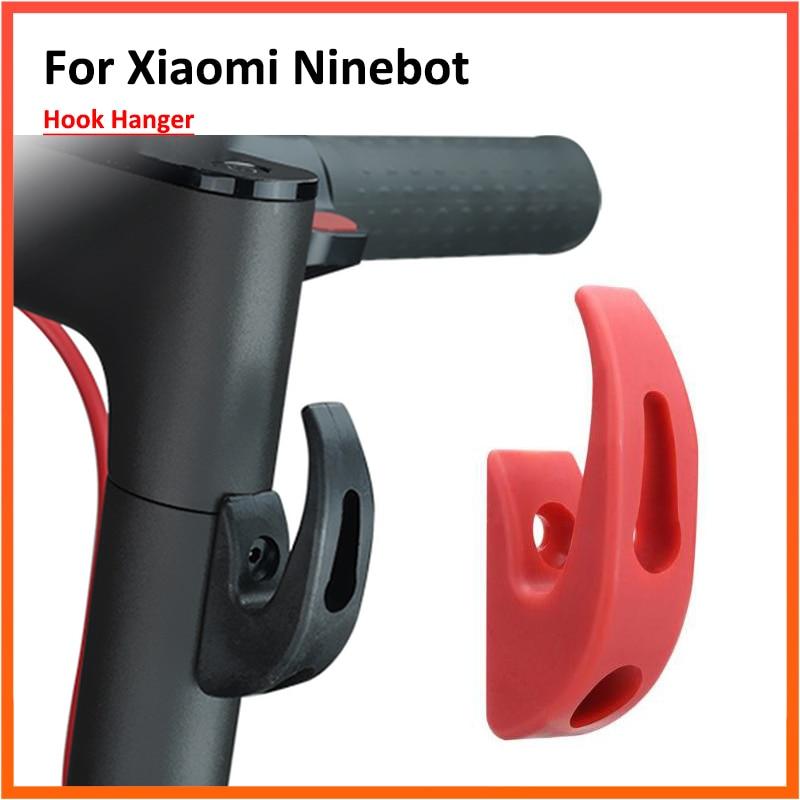 SHEAWA Colgador para Bolsa de Accesorios con Gancho Frontal para Xiaomi Mijia M365 Pro y M187 Scooter el/éctrico