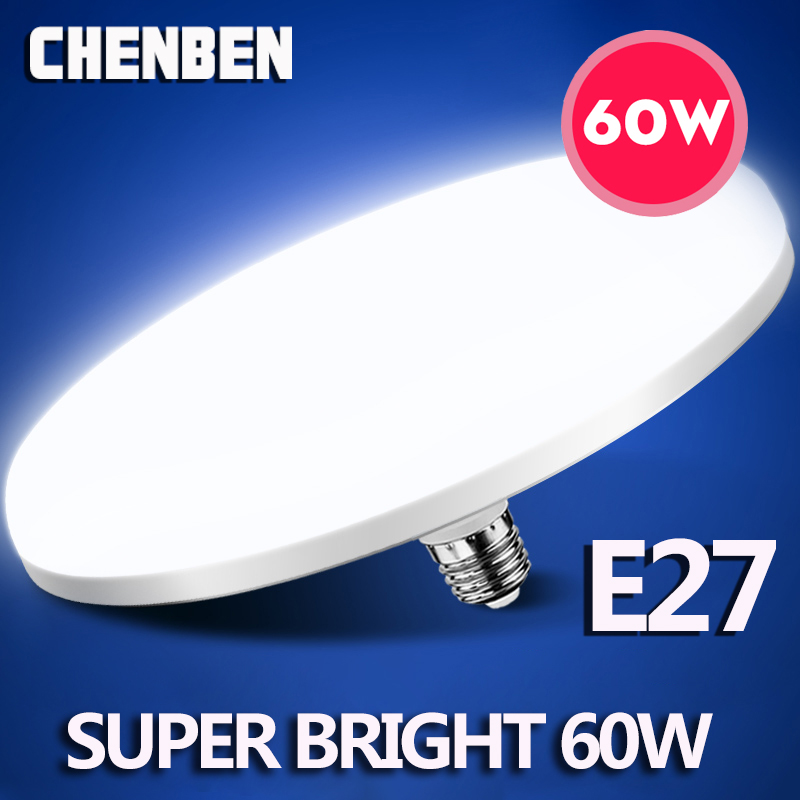E27 หลอดไฟ LED หลอดไฟ LED 220V 15W 20W 40W 50W 60W Bombillas LEDs หลอดไฟ Ampoule สำหรับห้องครัวหน้าแรกในร่ม