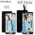 Для Meizu M5 Note LCD дисплей сенсорный экран M621H M621Q M621M для Meizu M5 LCD M611D M611Y M611A M611H M5S дисплей с рамкой