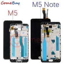 Cho Meizu M5 Note Màn Hình LCD Hiển Thị Màn Hình Cảm Ứng M621H M621Q M621M Cho Meizu M5 LCD M611D M611Y M611A M611H M5S màn Hình Hiển Thị Có Khung