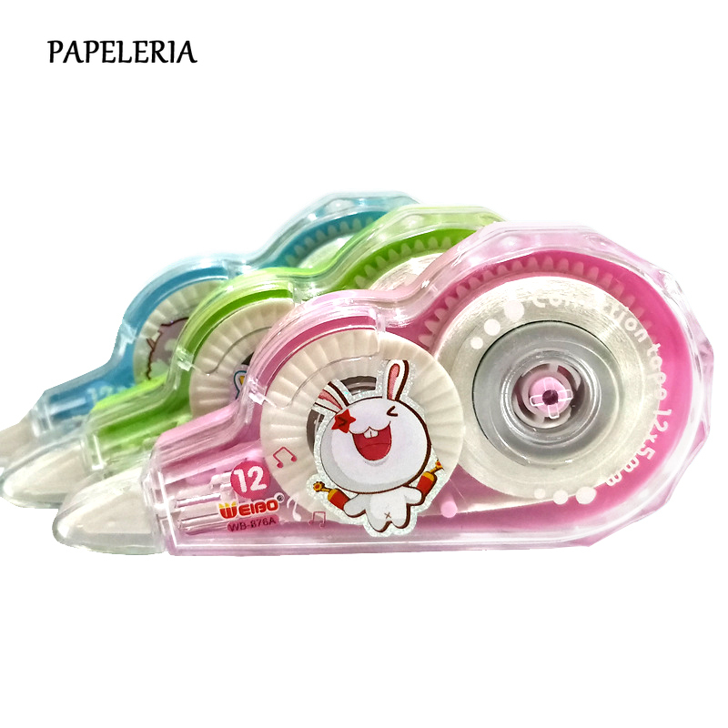 6m Kawaii Correction Tapes Cartoon Animals Correction Tape Office School Corrector Tools Cute Stationery Supplies Kids Gift