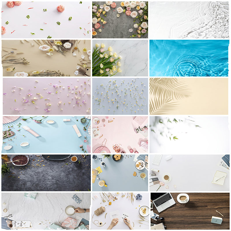 Desktop photography background paper double-sided 3D texture photography studio photo food beverage cosmetic accessories