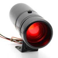 Adjustable 30mm RPM shift light Tachometer 1000-11000 rpm warning selectable Black case Car meter