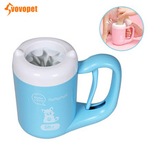 VOVOPET NEW Pet Paw Washer Cup 360° Cleaning Feet Dog Cleaner Silicone Portable Small Big Dogs Foot Clean