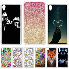цена на 22 styles DIY Hard Printing Case For Sony Xperia M4Aqua M4 Aqua E2303 E2333 E2353 Back Cover Skin Bag Hood Colorful for Sony M4