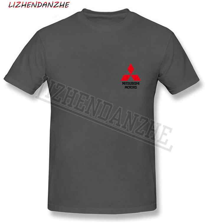 T-shirt logo Mitsubishi, T-shirt moteurs de mode pour hommes, t-shirts 100% coton vêtements auto t-shirts AAA + 50